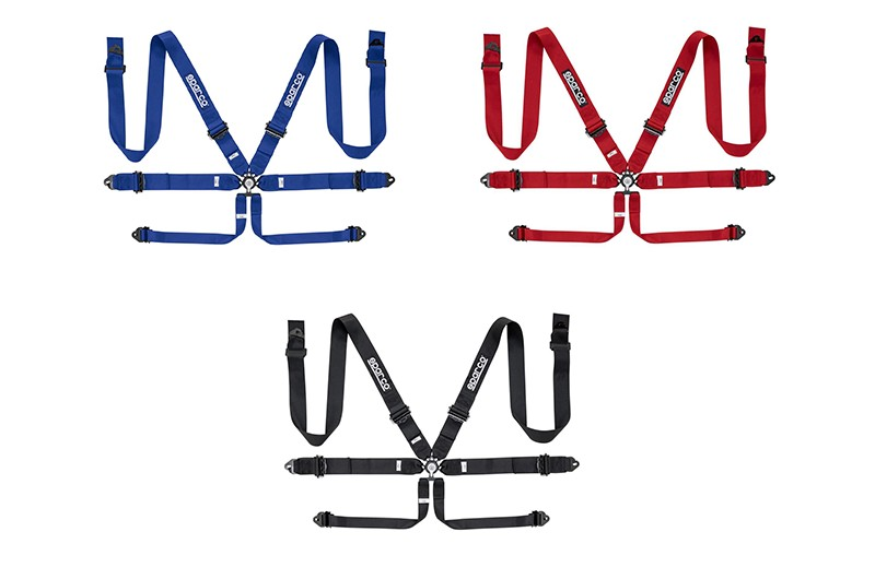 "Sparco 6 Point Harness 3"" Alu. Produsentens art.nr: 04818RAL"
